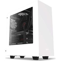 NZXT NZT-CA-H500B-W1 Matte White H500 Mid Tower Chassis 1yr