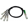 AddOn Other Accessories - AddOn 1X 40G QSFP+ to 4x 10GBASE-CU SFP+ Direct Attach Copper BREAKOUT Passive Cable 5m | Wholesale IT Computer Hadware