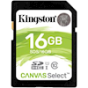Kingston SD / SDHC / MicroSD Cards - Kingston 16GB SDHC Canvas Select | Wholesale IT Computer Hadware