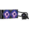 CoolerMaster Water Cooling - CoolerMaster MasterLiquid Lite 240 RGB CPU Cooler RGB Dual Chambers Design Water Block | Wholesale IT Computer Hadware